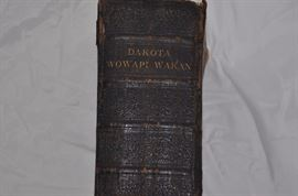 Native American 1900 holy bible Dakota Wowapi Wakan