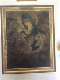 Our Lady of Chernobyl painting