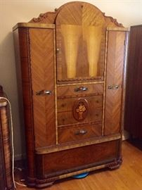 Great  condition waterfall bedroom set