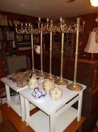 great candle sticks for a caterier