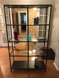 IKEA Metal Frame Display Shelf