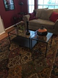 IKEA Metal Frame Nesting Tables