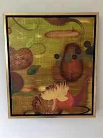 1 of 2 Encaustic Beeswax Art by Timothy McDowell