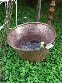 Copper Pot - great decorators piece
