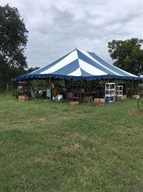 Giant Tent Full of Treasures!