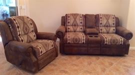 vign Room Store dual reclining love seat recliner