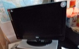 "22"" TV with built in DVD player"