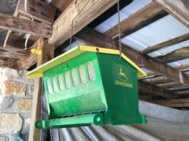 John Deere bird feeder