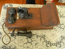 Western Electric Antique Wall telephone