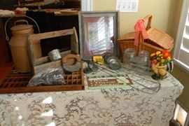 Small sample of some of the country antiques and more