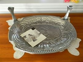 Great Large Pewter Tray