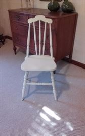 Early American side chair $20