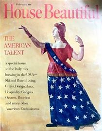 This home was featured in the February issue of House Beautiful Magazine 1965.