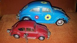 Love Bug and a Schuco Micro Racer VW