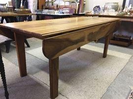 Koa wood dining table