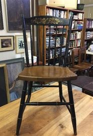 Pair of Hitchcock side chairs