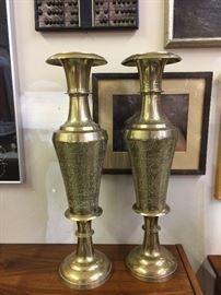 Large brass vessels