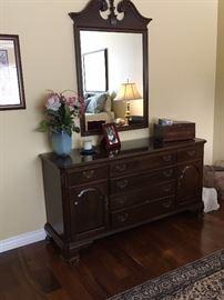 Ethan Allen Queen Cherry Dresser only, $ 225 (mirror sold)