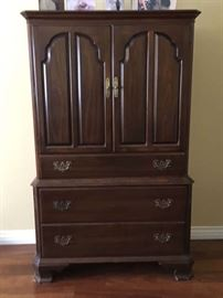 Ethan Allen Cherry Armoire - Front View - Excellent condition - $ 225 OBO