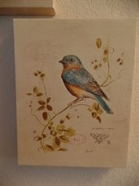 Colorful bird prints, for different ones available