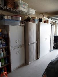 Lots of storage cabinets available