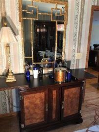 Matching bar cabinet