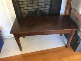 #7	piano bench  rectangle 36x15x18	 $30.00