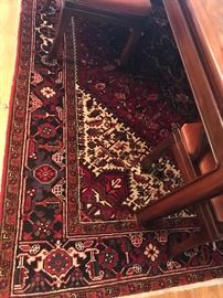 "10'4"" x 7'4"" vintage middle eastern area rug"