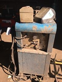 """Miller"" Combination  Arc (stick) Welder & Heliarc Welder"