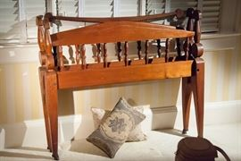 Cherokee indian hand made bed c1900
