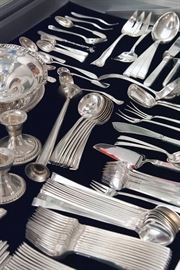 Sterling, Towle Craftsman flatware and more