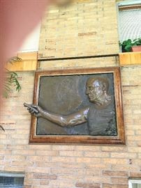 Bill Mack bonded bronze Picasso