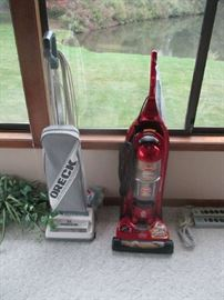 ORECK AND BISSELL VACUUM CLEANERS
