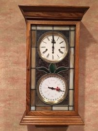 Sligh Mechanical Clock with all keys.  Serviced and running