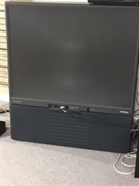 55 inch Toshiba Rear Projection TV.  GREAT for DVDs, gaming and local channels.