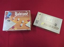 Vintage Yahtzee