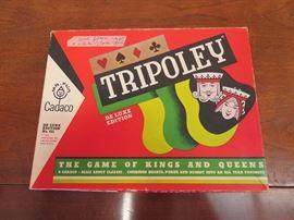 Vintage Tripoley Game