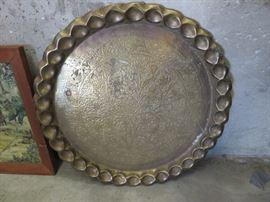 Large Brass Dish