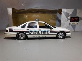 U T Models Asheville Police Cruiser