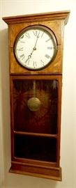 This is a wonderful working clock is from a railroad station in Indiana.