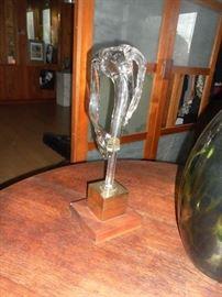 Glass sculpture by Paul Gonzalez