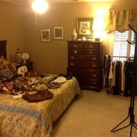 King size bed and complete bedroom suit