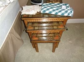 pair of these nesting tables
