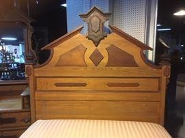 c. 1880's Victorian RenaissanceRevival,3-Piece Beautiful Bedroom Suite
