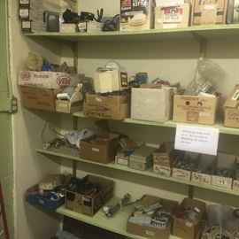 Lots of electrical items. Electrical boxes new .. Just a ton