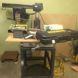 Radial Arm Saw works