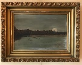 19th c.  Original Oil Painting