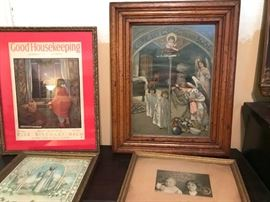 more vintage and antique prints