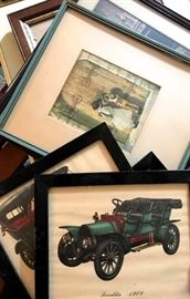Vintage Framed Prints