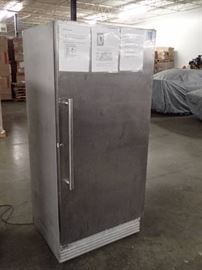 Stainless Single Door Commercial Freezer